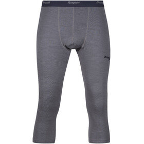 Bergans Akeleie 3/4 Tights Men Solid Grey/Night Blue